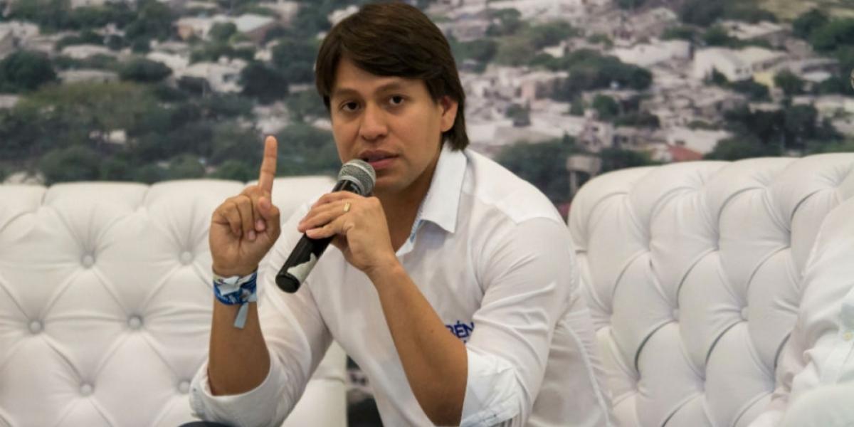 Rubén Jiménez en el 2015 aspiró a la Alcaldía de Santa Marta por el Partido Conservador.