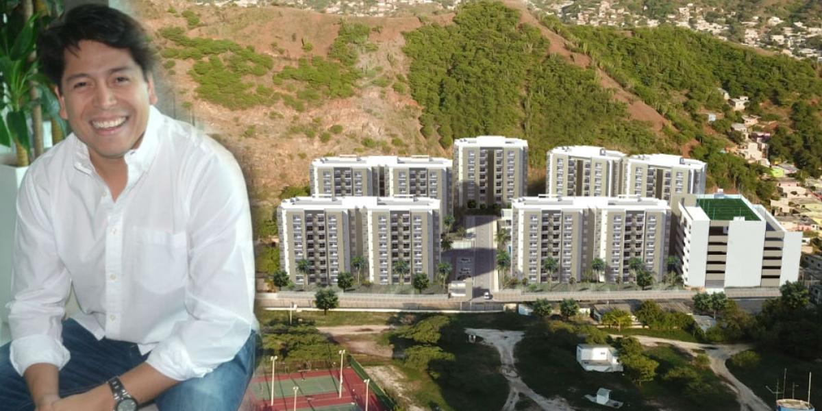 Carlos Jiménez es un emprendedor visionario que sigue los pasos de su papá aportándole al desarrollo urbano de Santa Marta.