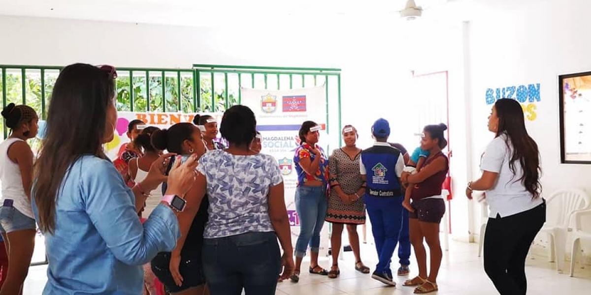 La Gobernación continúa con las jornadas de prevención y socialización dirigidas a madres de familia y víctimas de la violencia.