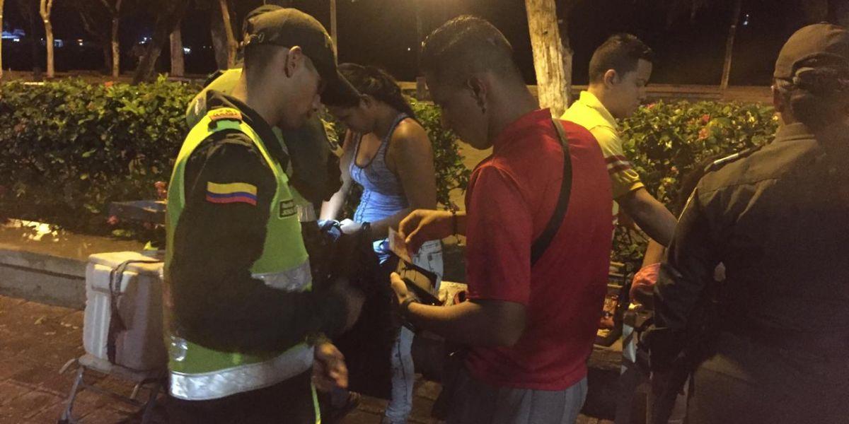 'Toma' de la Policía en Santa Marta.