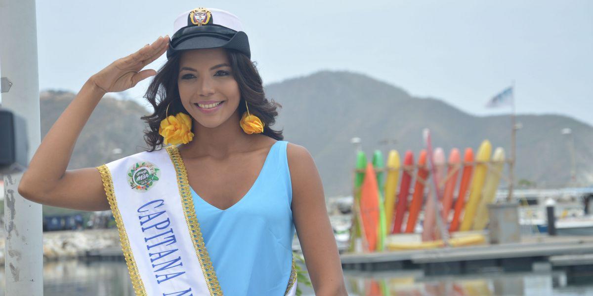 Kelly Puerta, Capitana Nacional del Mar 2018