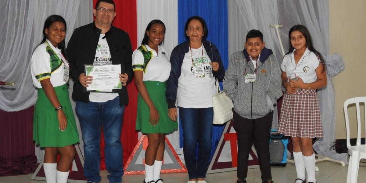 Los magdalenenses obtuvieron méritos y los premios al primer y tercer puesto.