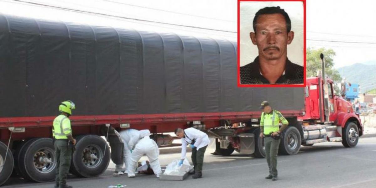 Lesvi Rafael Acuña, reciclador muerto.