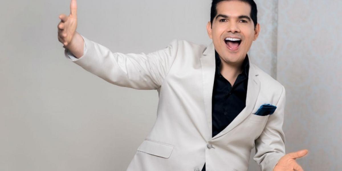 Peter Manjarrés, cantante vallenato.