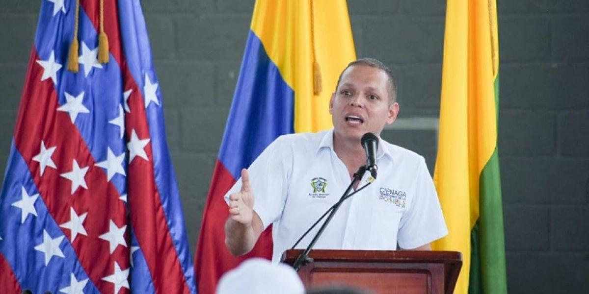 Edgardo 'Nene' Pérez, alcalde de Ciénaga