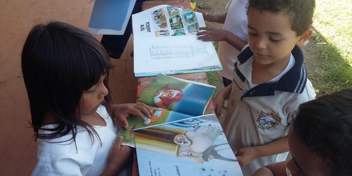 Con la puesta en marcha a la iniciativa se busca garantizar el derecho a la lectura y a la expresión tomando como base la oralidad.