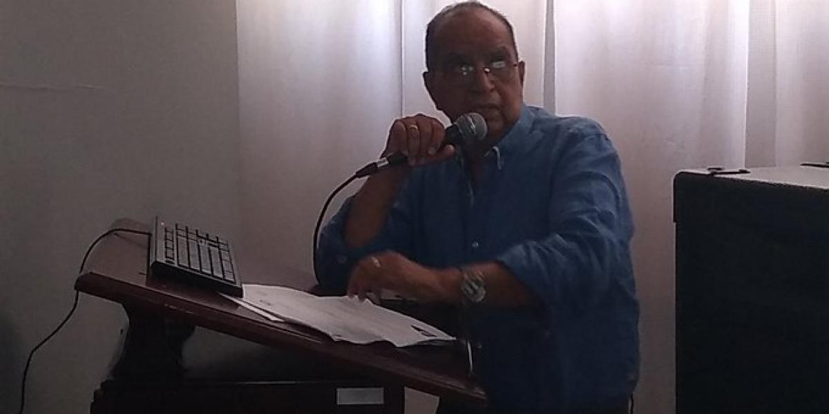 El secretario de Gobierno Distrital, Jairo Amor, estuvo en el Concejo.