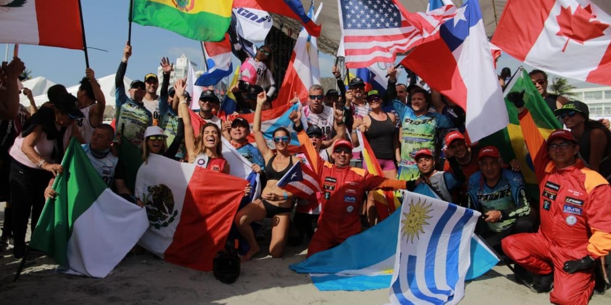 Una verdadera fiesta deportiva se vivió en la playa de El Rodadero.