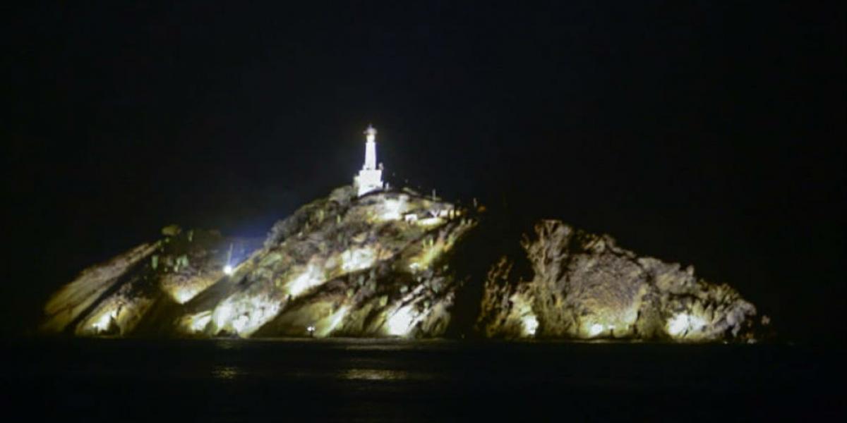 Iluminación de El Morro.