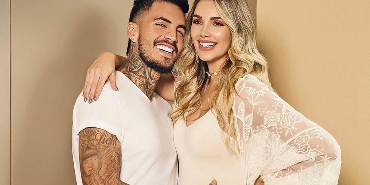 Melina Ramírez y Mateo Carvajal