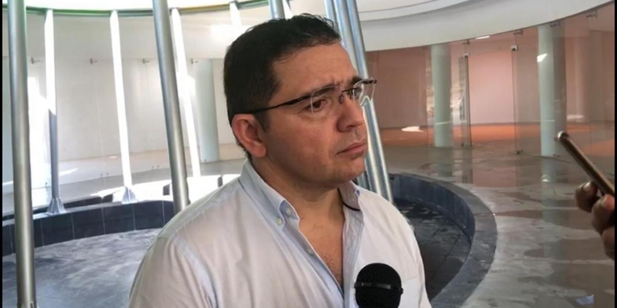 Rafael Martínez, alcalde de Santa Marta, pidió a la Fiscalía que esclarezca el origen de los audios.