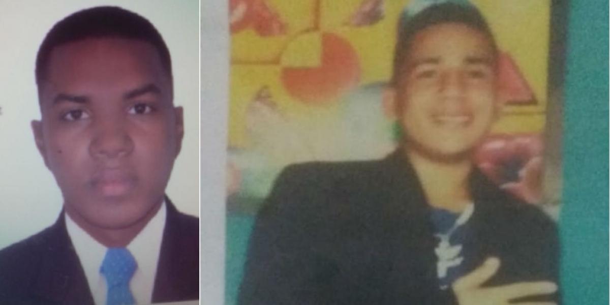 Yeison Roncallo Gómez (Izq) fue detenido por el homicidio de Kevin Rodríguez Mizuno (der).