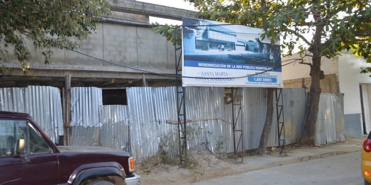 El centro de salud de Mamatoco será uno de los intervenidos.