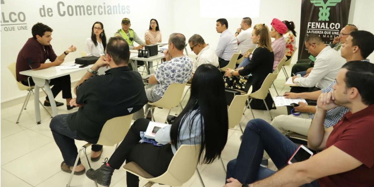 Participantes de la reunión.