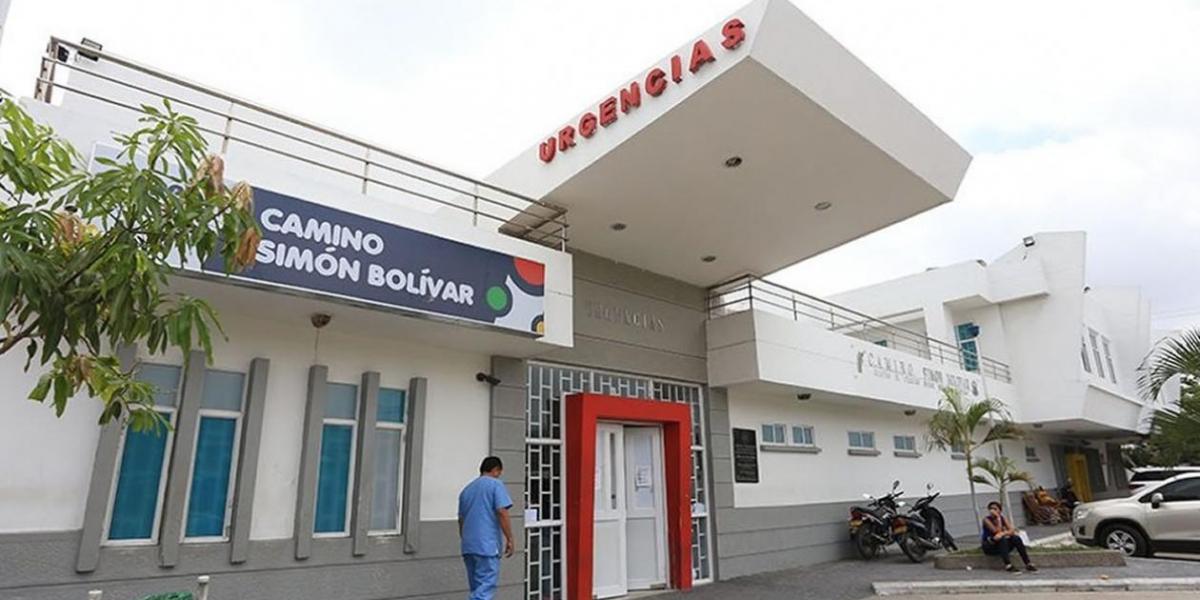 Centro de Salud, Camino Simón Bolivar.
