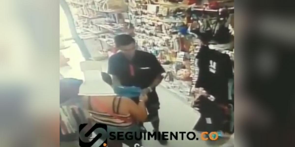Robo en almacén