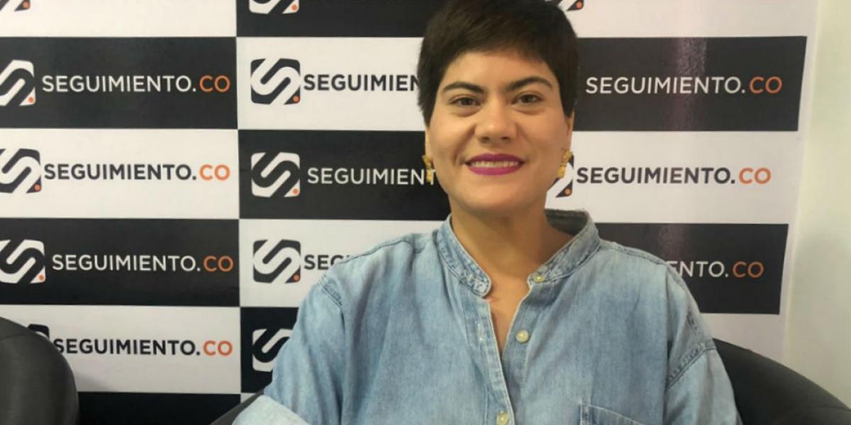 Ana Karina Castañeda, candidata a edil por la localidad 2