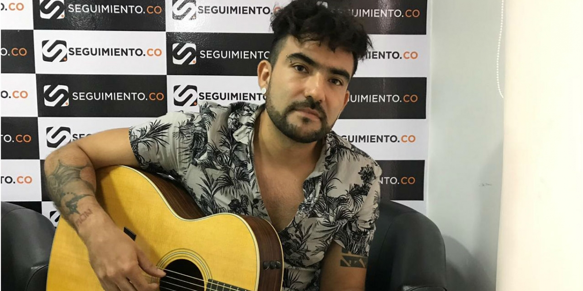 Gustavo García, líder de la agrupación Guga.