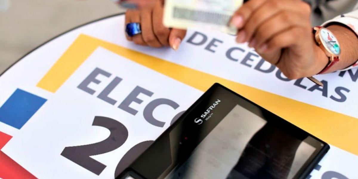 Registrador Nacional del Estado Civil, confirmó que la cifra de inscritos supera los 3 millones 294 mil inscritos.