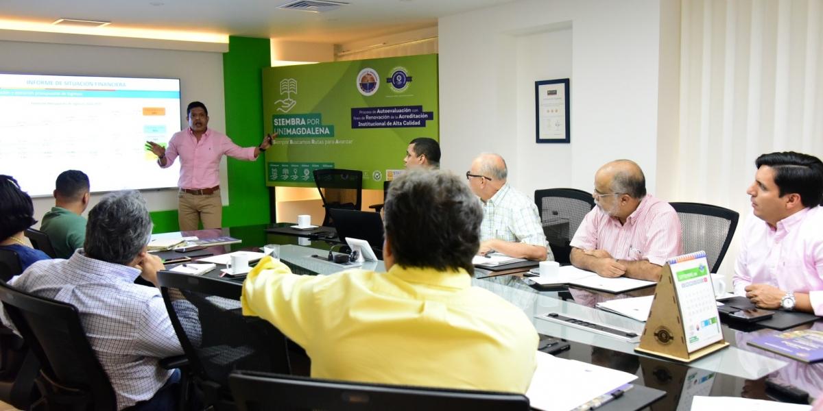 El anuncio se realizó durante sesión del Consejo Superior, en la que además del monto destinado para la primera fase del Edificio Innovateca Caribe, se aprobó el Plan de Fomento de la Calidad Unimagdalena 2019.