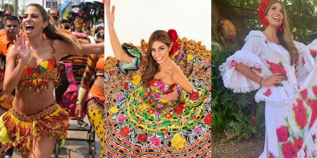 Resultado de imagen para reina del carnaval isabella chams