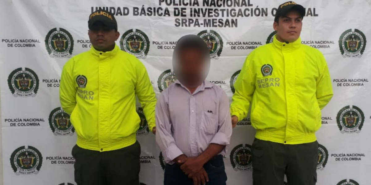 Capturan a presunto abusador sexual de menor