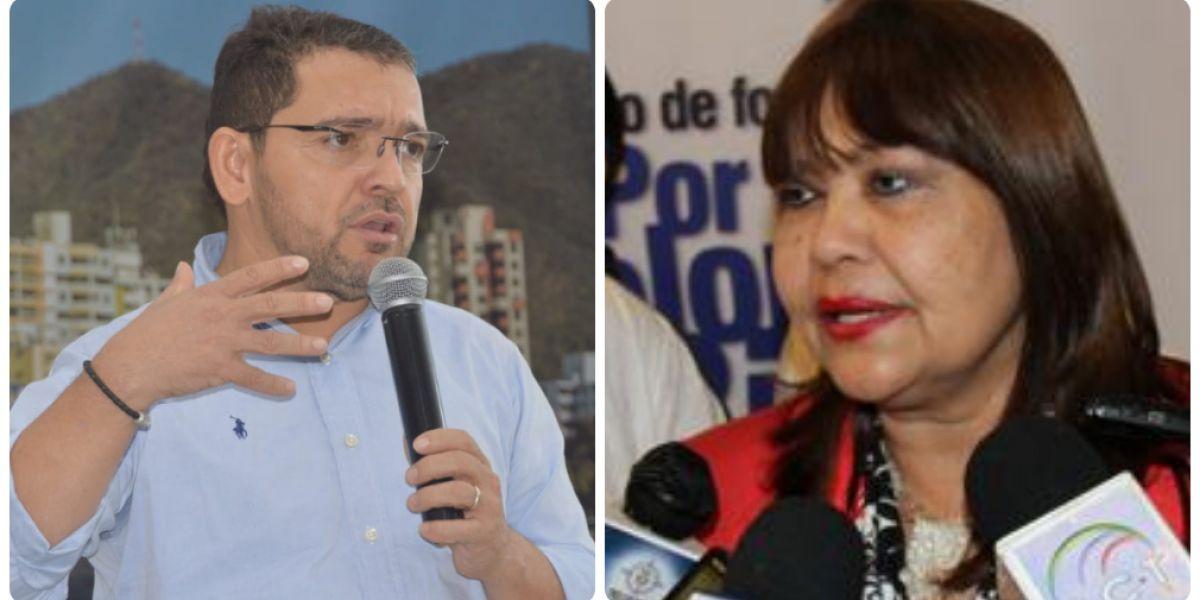Rafael Martínez y Martha Castañeda.