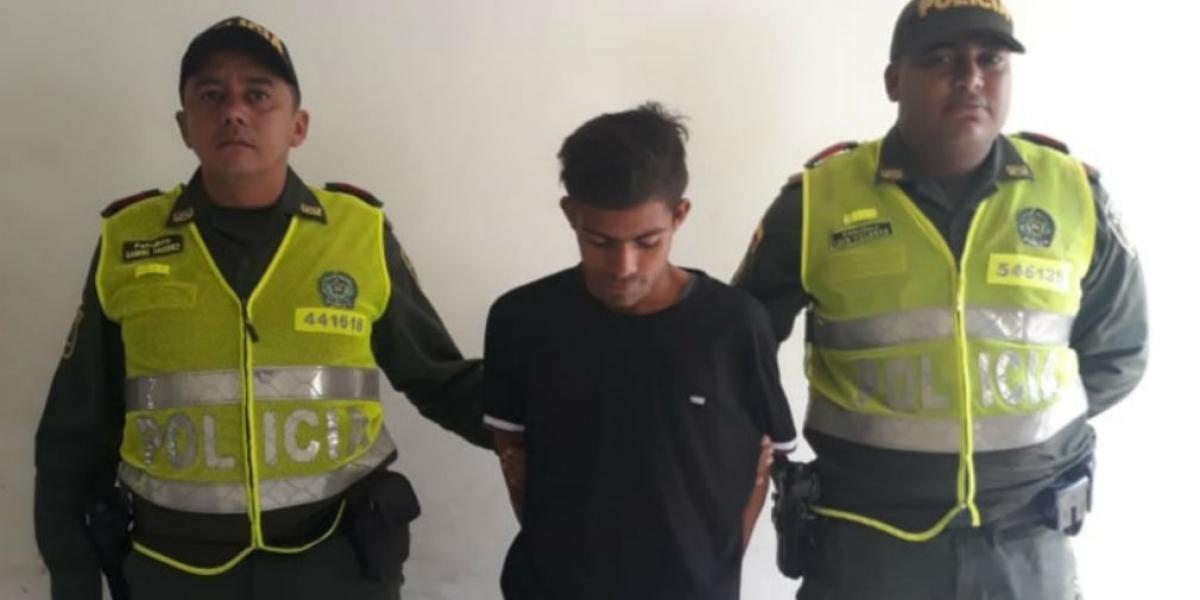 Jhoandi Samper Navarro, acusado de acceso carnal violento.