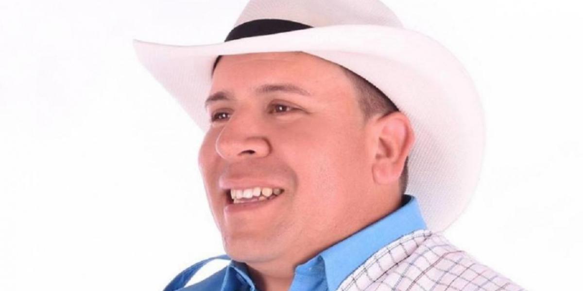 El candidato Orley García