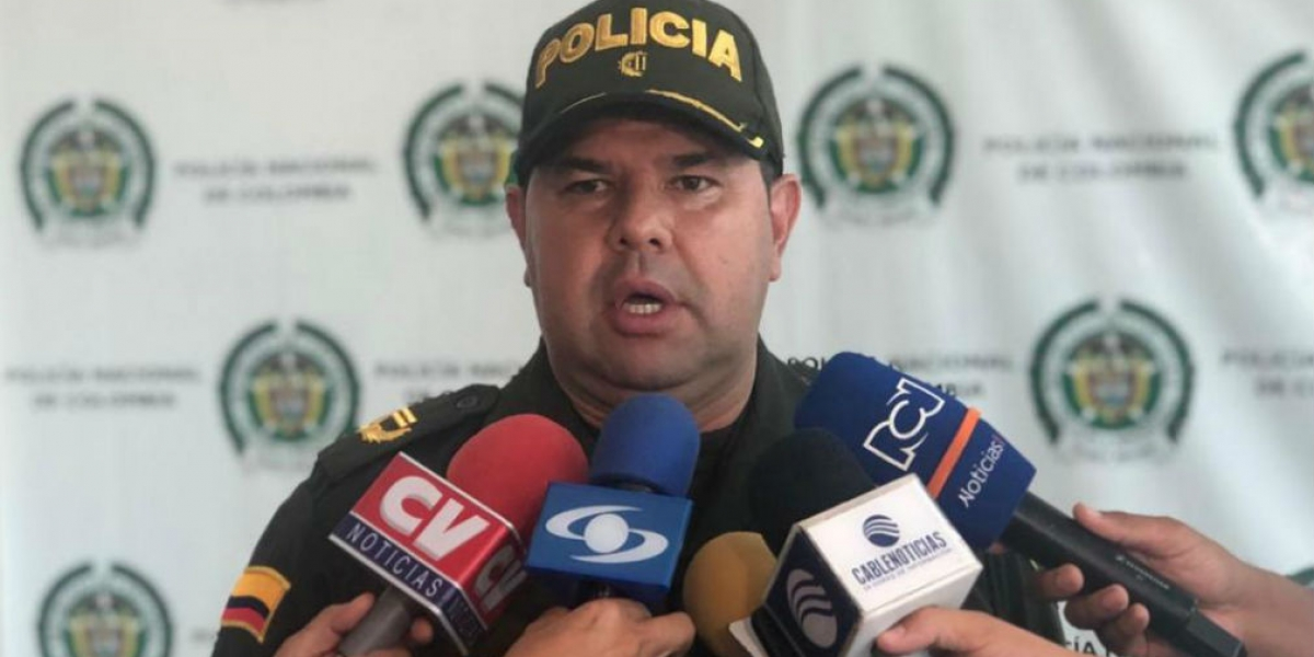 Coronel Yecid Peña, comandante operativo de la Mebar.