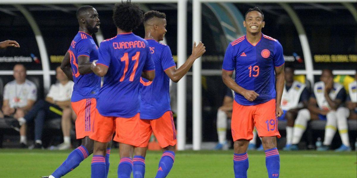 Colombia empató recientemente 2-2 con Brasil.