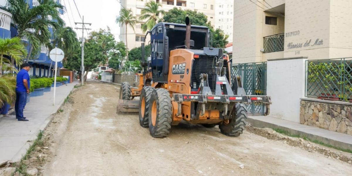 Essmar perfilando las vías principales de Bello Horizonte.