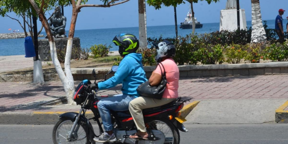 Este jueves 12 de septiembre es día sin parrillero en motocicleta.