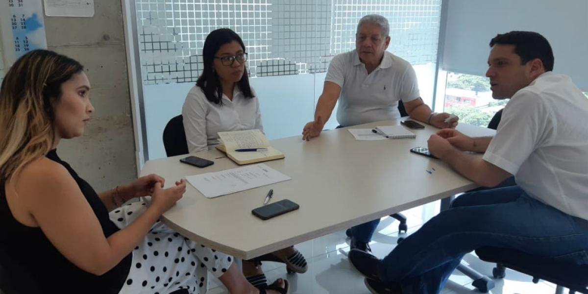 Reunión entre la Secretaría de Desarrollo Económico y Competitividad y MinTrabajo.