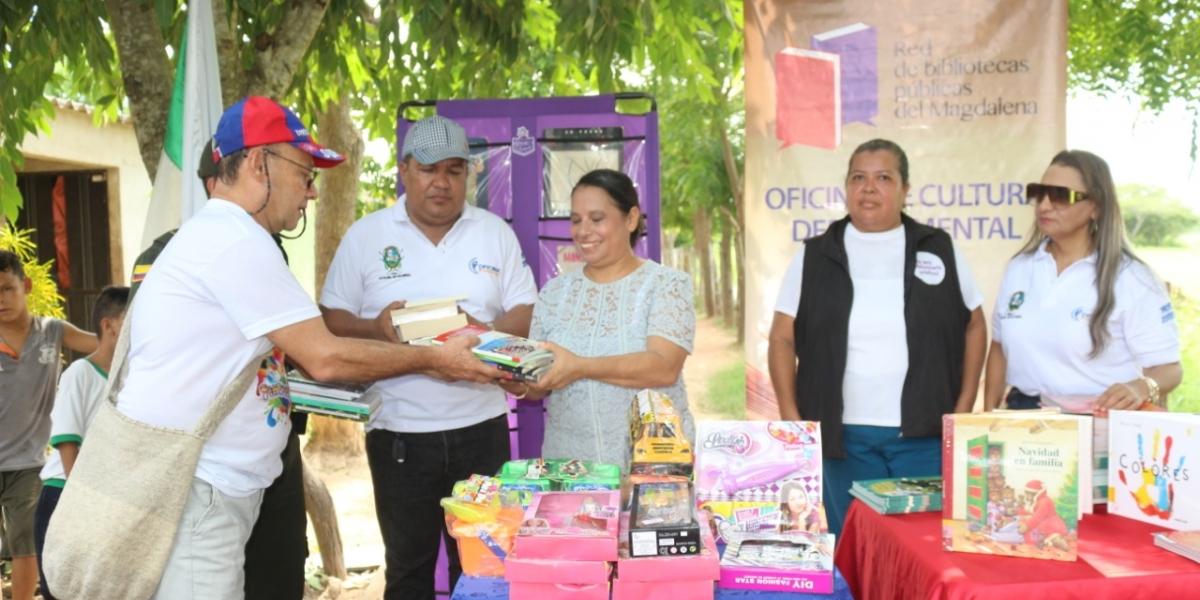 En la actividad se destacó la motivación de niños y jóvenes por la lectura.