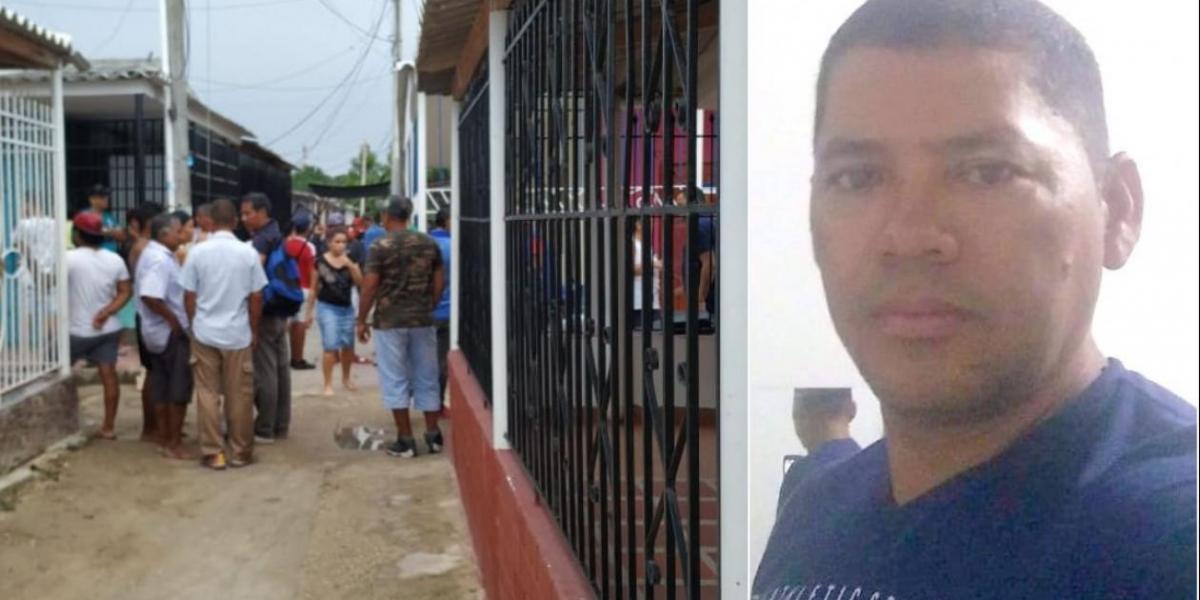 Henry Meza, hombre asesinado en Malambo.