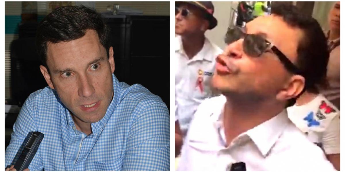 Juan Pablo Díaz Granados atacó a Carlos Caicedo y la administración de Rafael Martínez