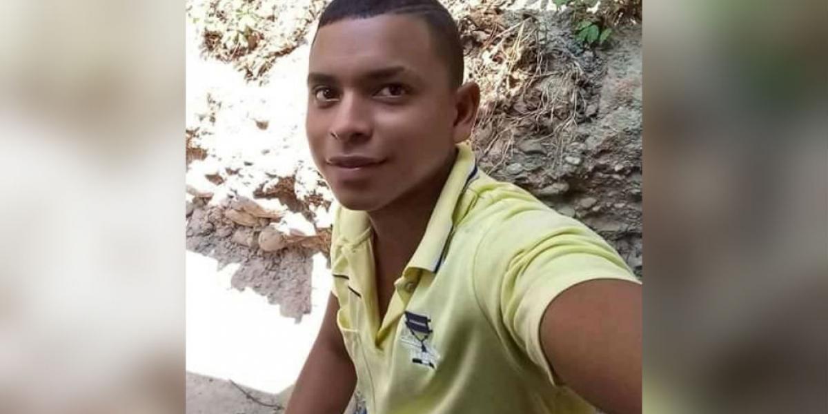 La víctima fue identificada como Janer Espinoza.