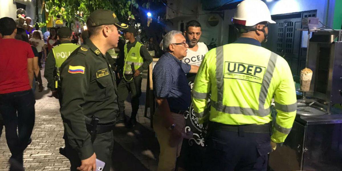Operativos de la Udep.