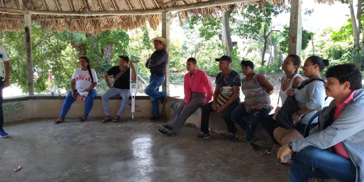 25 líderes de la población asentada sobre la Troncal del Caribe y Sierra Nevada.