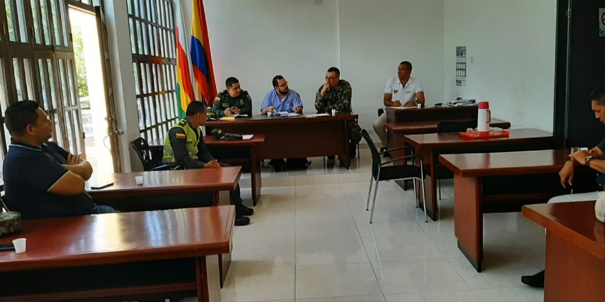 En el consejo de seguridad participó el Ejército Nacional, Comisaría de Familia, Inspección de Policía, Personería Municipal y Alcaldía de Aracataca.