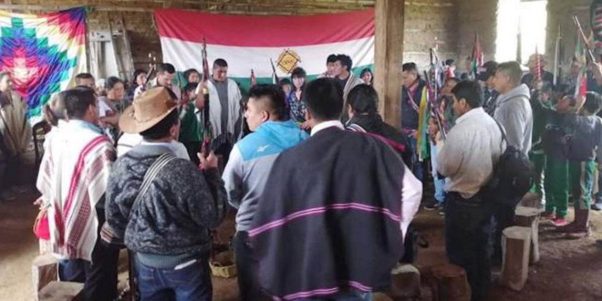 Consejo Regional Indígena del Cauca (CRIC).