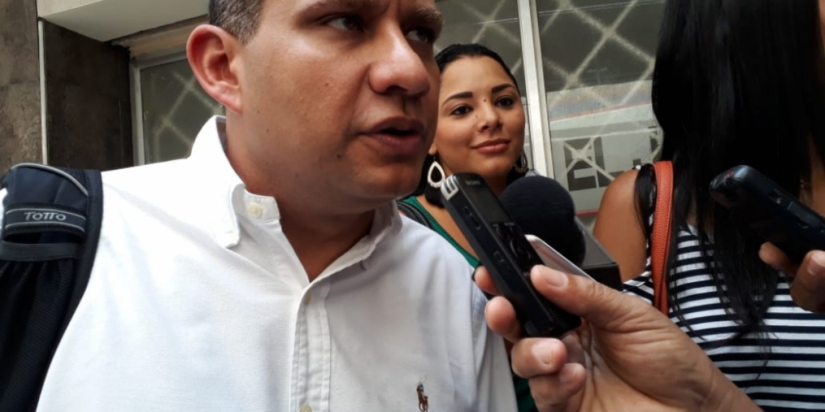 El abogado suplente del actual alcalde y del exalcalde, Luis Carlos Torregroza.