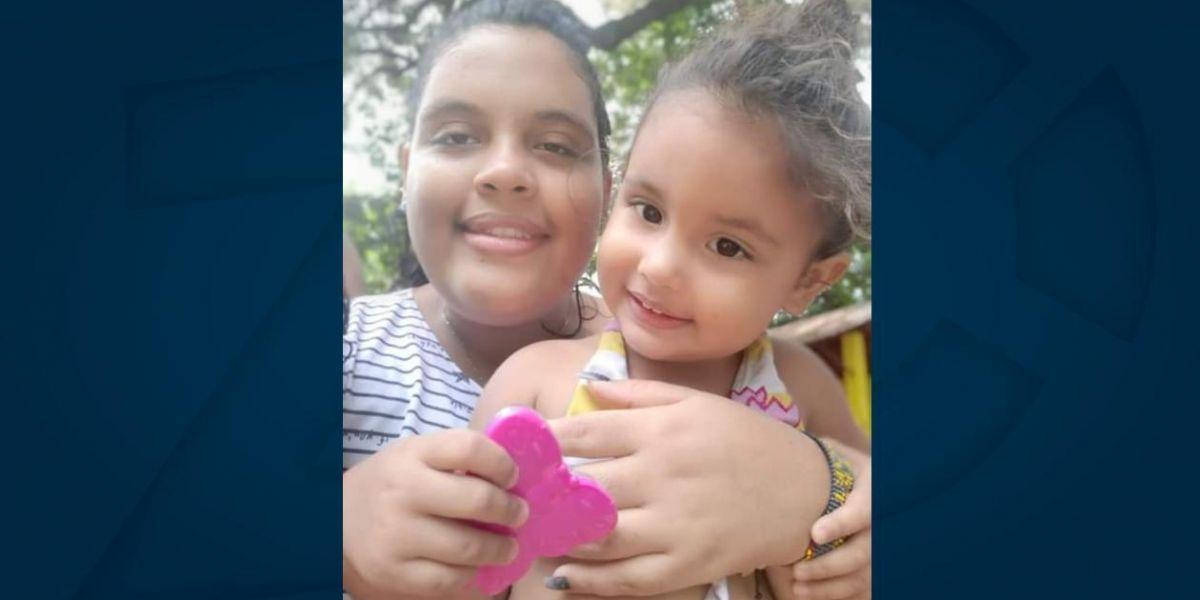 Alison y su pequeña hija Sarita se encuentran desaparecidas.
