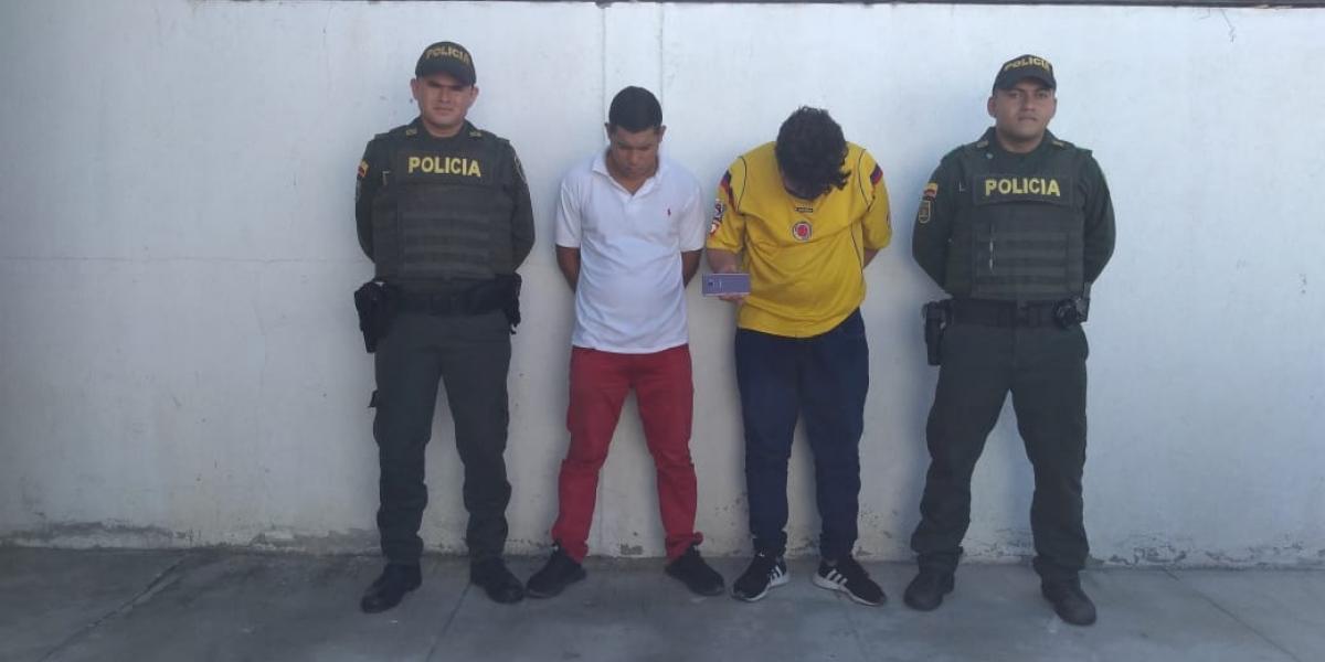 Capturados en El Rodadero por hurto