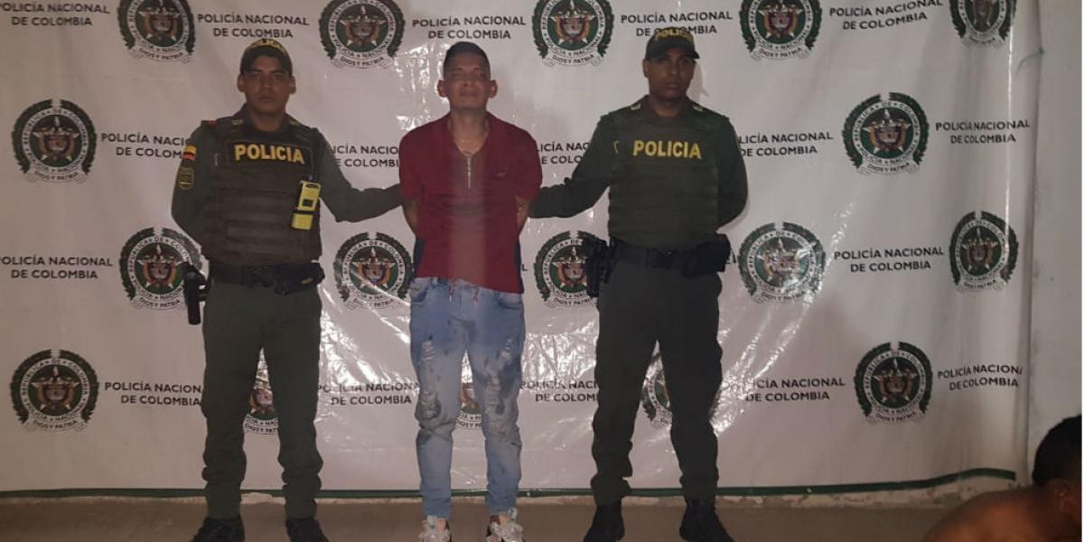 Ángel David Ruiz Ospino, alias 'El Bello'.