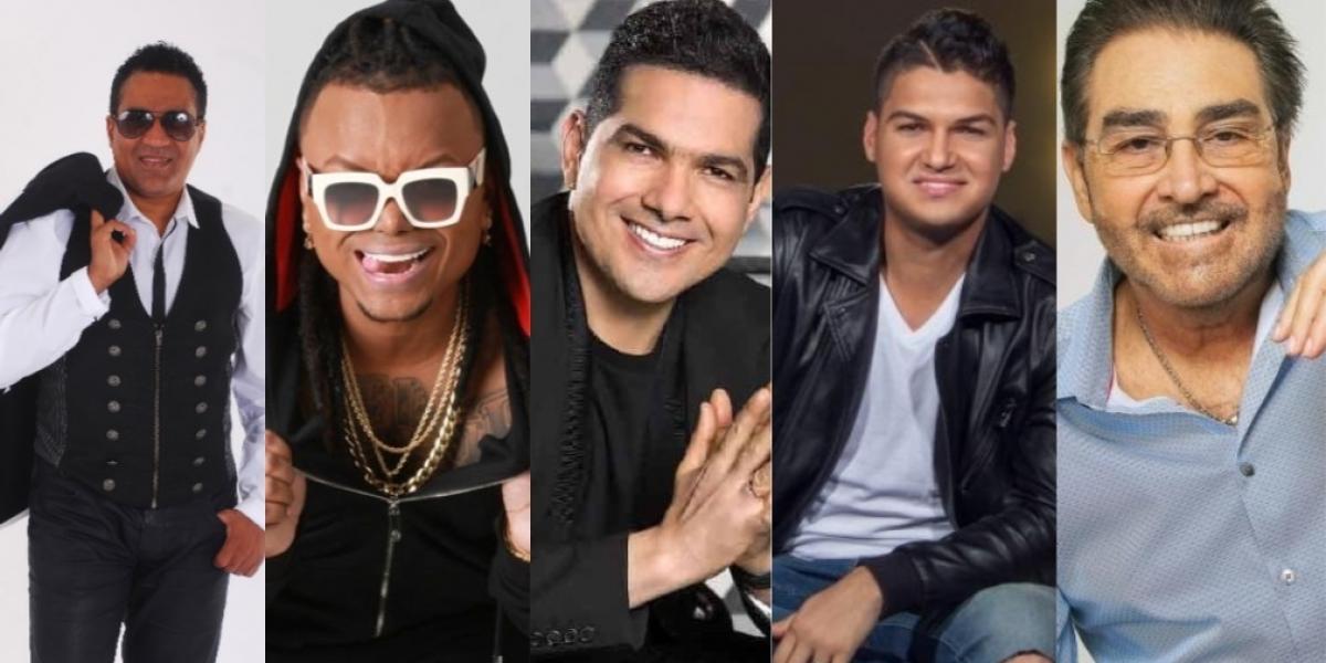 Kinito Méndez, Mr Black, Peter Manjarrés,Elder Dayán, Hansel y Raul, son varias de las agrupaciones que estarán cantando en Ciénaga.
