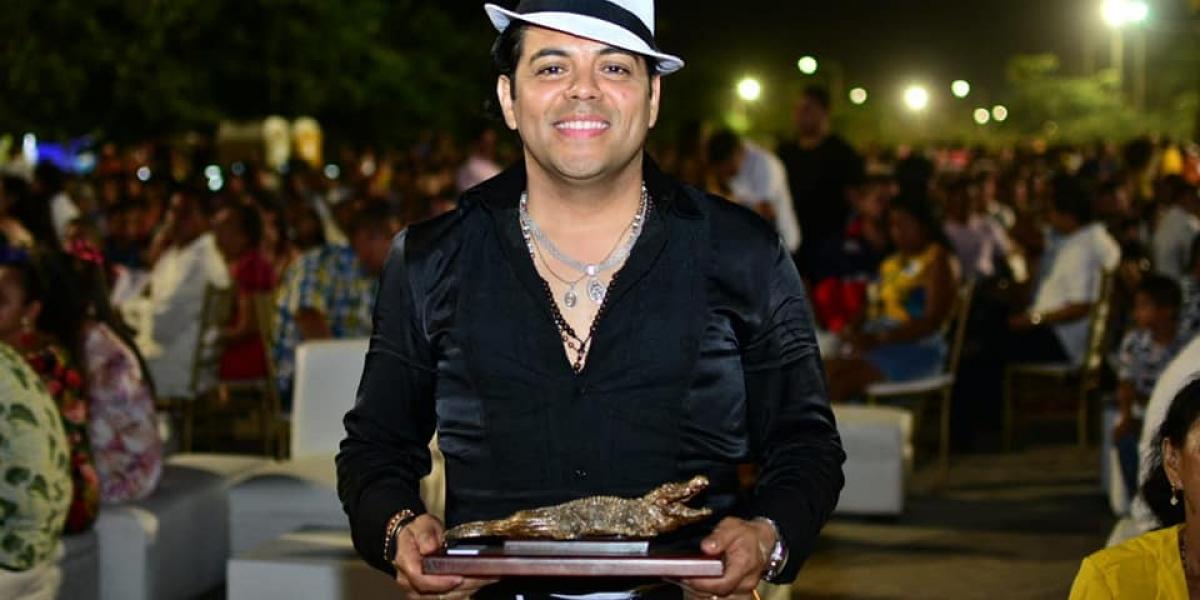 Nelson Blanco Charris, quien representó a Sergio Vargas en el concurso 'Yo me llamo', fue uno de los galardonados.