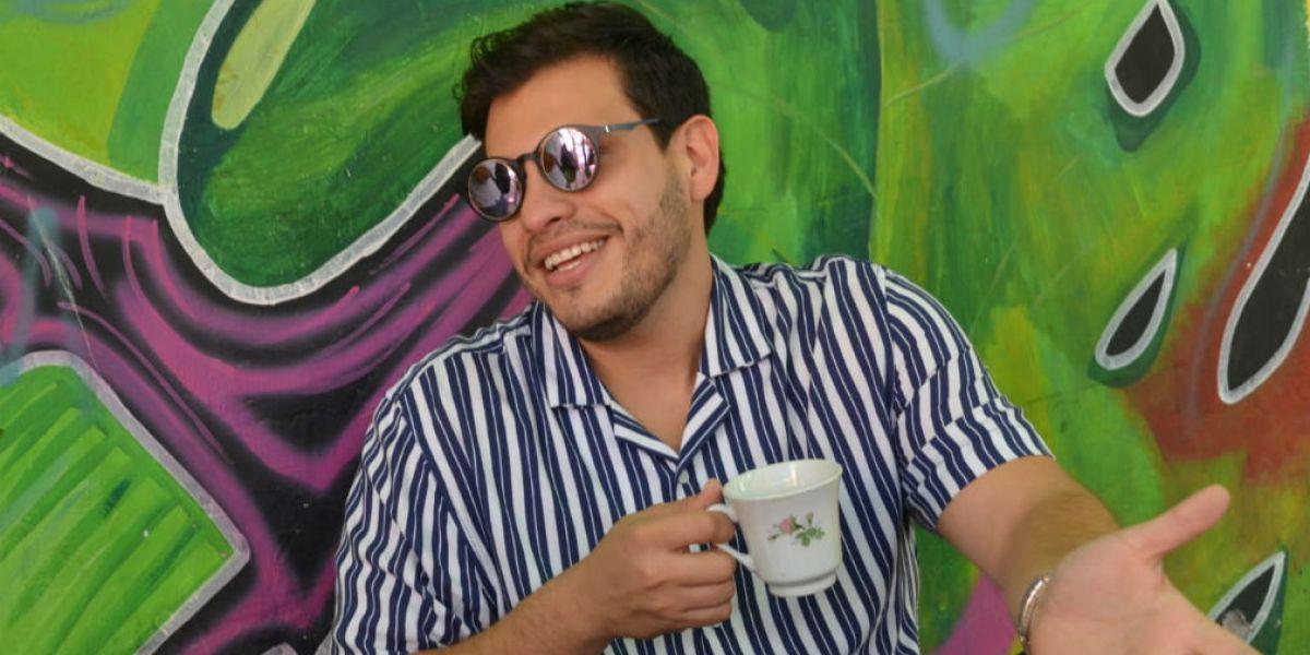Rashid Zawady, artista samario.