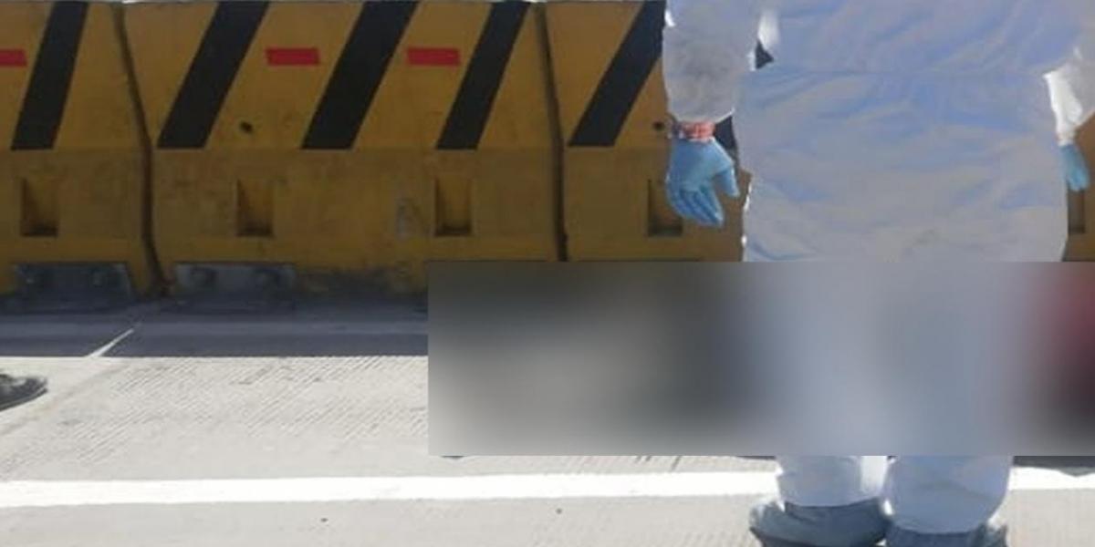 El CTI de la Fiscalía se encargó de la inspección del cadáver.